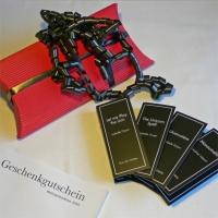 Geschenkgutschein  & 4 Proben (Weihnachten 2013)